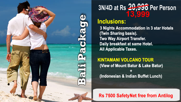 Bali Packages Limited Period Sale Upto 47 Off Bali Tour